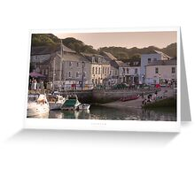 Padstow, Cornwall Greeting Card
