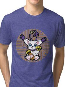 Digi Maneki Neko Tri-blend T-Shirt