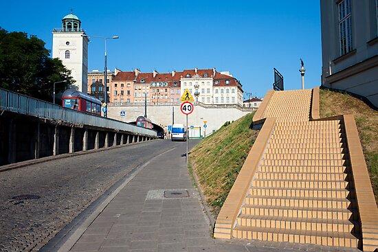 Warsaw Urban Scenery by Artur Bogacki