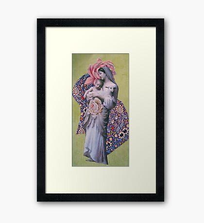 Mary Christmas Framed Print