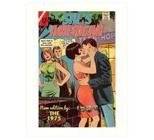 She's American by The 1975 Comic Art Print