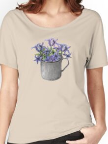 Hyacinth flowers in a mug Women's Relaxed Fit T-Shirt