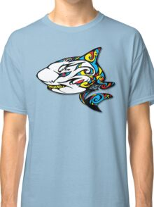 Colourful Armored Shark Classic T-Shirt