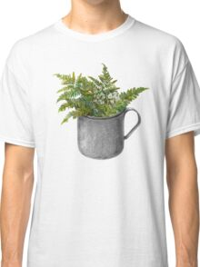 Mug with fern leaves Classic T-Shirt