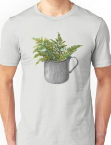 Mug with fern leaves Unisex T-Shirt