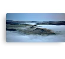 Win Hill Inversion Canvas Print