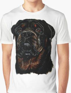 Male Rottweiler Graphic T-Shirt