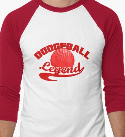 Dodgeball Men's Baseball ¾ T-Shirt
