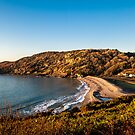 Pwll Du Bay on a fresh winter morning by Adam Carra