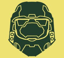 Master Chief - Simple by Braden  Stevenson