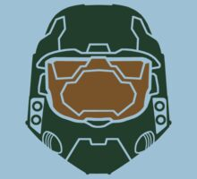 Master Chief - Simple 2 by Braden  Stevenson
