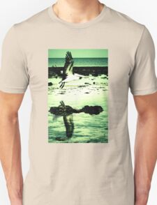 Double image Pelican T-Shirt