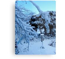 Ted and Clare's Garden... Metal Print