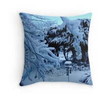 Ted and Clare's Garden... Throw Pillow