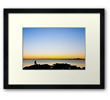 Forth Sunrise Framed Print
