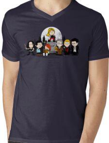 The Peanuts Slayer Mens V-Neck T-Shirt