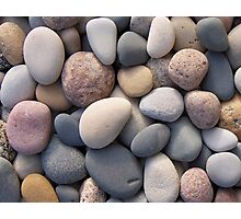 Beach Pebbles Photographic Print
