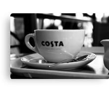 Costa  Canvas Print