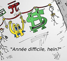 Euroman Bucky caricature et la falaise fiscale by Binary-Options