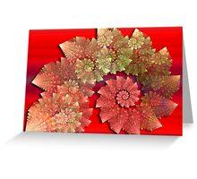 Decorative Swirls Greeting Card