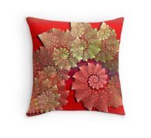 Decorative Swirls Throw Pillow