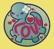 Dino Love Baby Tee