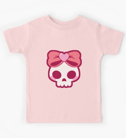 Skull Bow Kids Tee