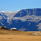 Rocky Mountain Front  by David Clark