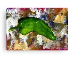 Green Chili Canvas Print