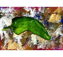 Green Chili Photographic Print