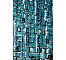 Abstract Reflection on Skyscraper Windows Photographic Print
