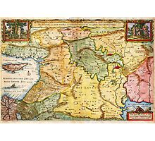 1657 Visscher Map of the Holy Land or the Earthly Paradise Geographicus Gelengentheyt visscher 1657 Photographic Print