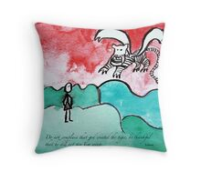 flying tiger Throw Pillow