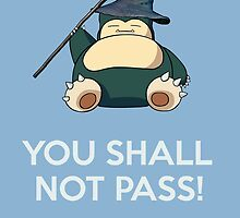 Gandalf Snorlax mashup by OuroborosEnt