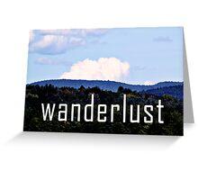 Wanderlust Greeting Card