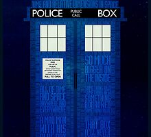 TARDIS by Kate H