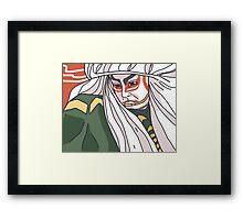 Nô actor Framed Print