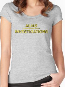 Alias Investigations - Jessica Jones Women's Fitted Scoop T-Shirt