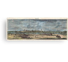 1698 de Bruijin View of Rama Israel (Palestine Holy Land) Geographicus Rama bruijn 1698 Canvas Print