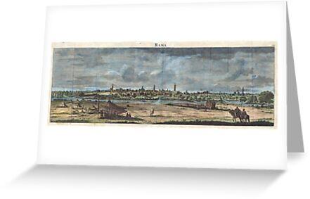 1698 de Bruijin View of Rama Israel (Palestine Holy Land) Geographicus Rama bruijn 1698 by Adam Asar