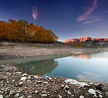 Lago Montagna Spaccata, Monte Greco by Fabio Catapane