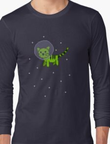 Space Kitten Long Sleeve T-Shirt