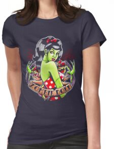 Zombie Doll Tee Womens Fitted T-Shirt