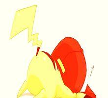 Pikachu ZzZ by ViviG