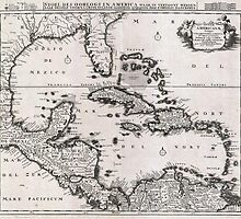 1696 Danckerts Map of Florida the WestIndies and the Caribbean Geographicus WestIndies dankerts 1696 by Adam Asar