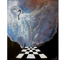 Brenda's prophetic chess board of heaven. Photographic Print