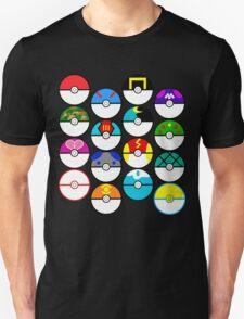 Pokeballs Galore T-Shirt