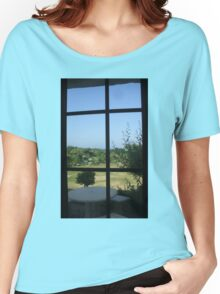 Guernsey View. (Sold in aid of Medway Queen restoration) Women's Relaxed Fit T-Shirt