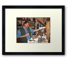 The Bukharan Spice Tea Seller Framed Print