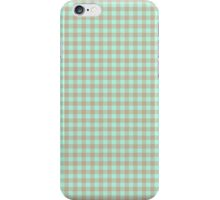 Pattern picnic tablecloth iPhone Case/Skin